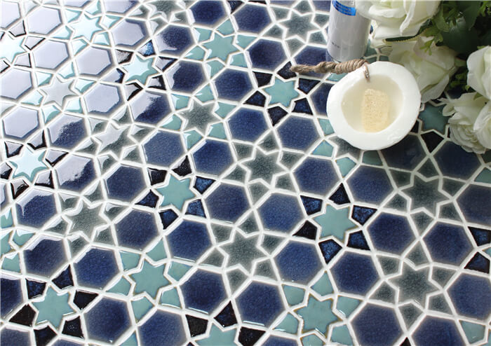 Thats Not Always The Case Swimming Pool Tiles Must Be Blue Mosaic - Swimming-pool-tiles-designs