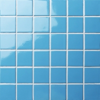Classic Blue Glossy BCK626-Mosaic tiles, Ceramic mosaic, Porcelain pool mosaic tiles