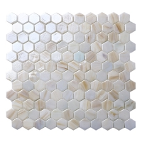 Hex BGZ039-Hexagon Mosaic, Hexagon Tile Banheiro, Hexagon Wall Tiles