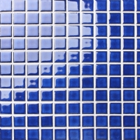 Classic Dark Blue BCI610-Mosaic tile, Ceramic mosaic, Glossy mosaic tile, Best pool tiles for sale