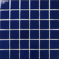 Fambe Dark Blue BCK602-Mosaic tiles, Ceramic mosaic, Crystal mosaic tiles, Blue pool tiles for sale