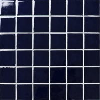 Fambe Dark Blue BCK603-Mosaic tiles, Ceramic mosaic, Dark blue swimming pool tiles
