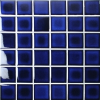 Fambe Cobalt Blue BCK614-Mosaic tiles, Ceramic mosaic, Cobalt blue swimming pool tiles
