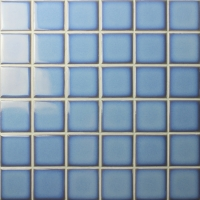 Fambe Light Blue BCK615-Mosaic tiles, Ceramic mosaic, Light Blue swimming pool tiles