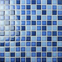 Fambe Blue Blend BCH003-Mosaic tile, Ceramic mosaic, Pool mosaic tiles from China