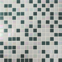 Chromatic Blue Mix BGE011-Mosaic tile, Glass mosaic, Glass mosaic backsplash, Custom glass mosaic pools