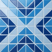 Santorini Square TRG-SA-SQ-Pool Tile, Triangle Tile, Swimming Pool Tile