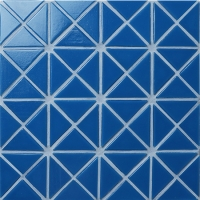 Santorini Pure-Color TRG-SA-P2-Pool Tile, Triangle Tile, Pool Tile Glass