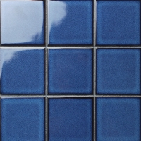 Fambe Crystal Glazed BCQ601-Ceramic mosaic, Ceramic mosaic backsplash tile, Ceramic pool tile mosaic