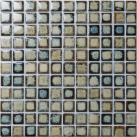 Fambe Glazed BCI907-Ceramic mosaic, Ceramic mosaic tile, Glazed ceramic pool tile