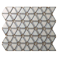 Triangle Khaki BCZ929A-wet room mosaic tiles, mosaic wall tiles kitchen, porcelain mosaic tile backsplash