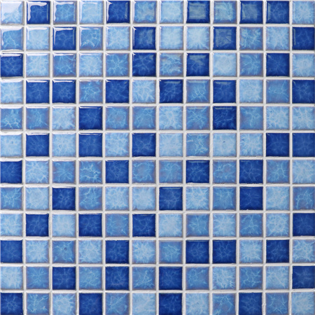 Blossom Blue Mix BCH002,Mosaic tiles, Ceramic mosaic, Pool mosaic, Pool tile wholesale
