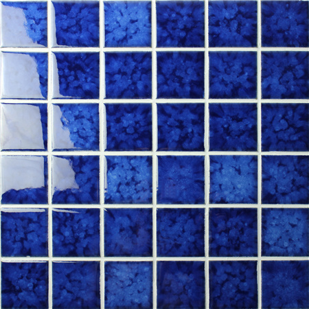 Blossom Blue BCK616,Mosaic tiles, Ceramic tiles, Blue ceramic pool mosaic tiles
