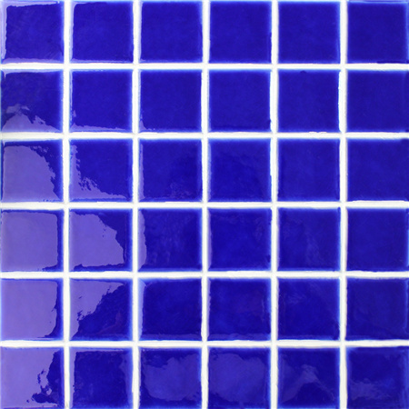 Frozen Blue Crackle BCK664,Pool tiles, Pool mosaic, Ceramic mosaic tile, Ceramic tile for Pool