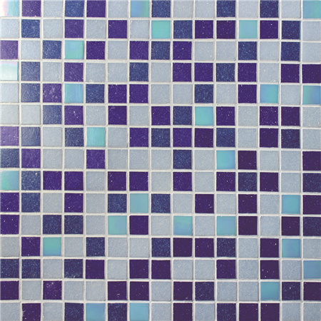Chromatic Blue Mix BGE012,Pool tiles, Glass mosaic, Glass mosaic on shower floor