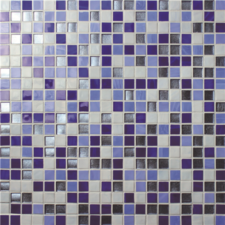 Jade Dark Blue BGC001,Mosaic tile, Glass mosaic, Pool mosaic tile wholesale, Blue swimming pool tile