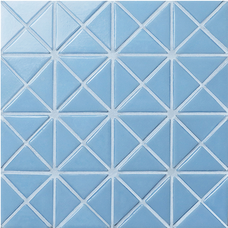 Santorini Pure-Color TRG-SA-P1,Pool Tile, Triangle Tile, Pool Tile for Sale