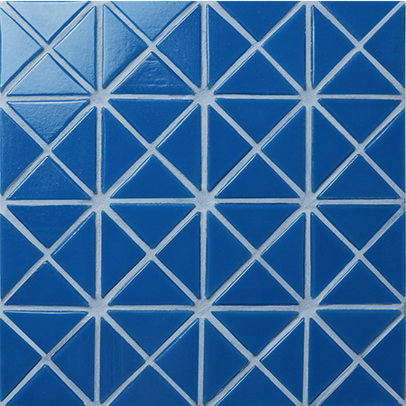 Santorini Pure-Color TRG-SA-P2,Pool Tile, Triangle Tile, Pool Tile Glass