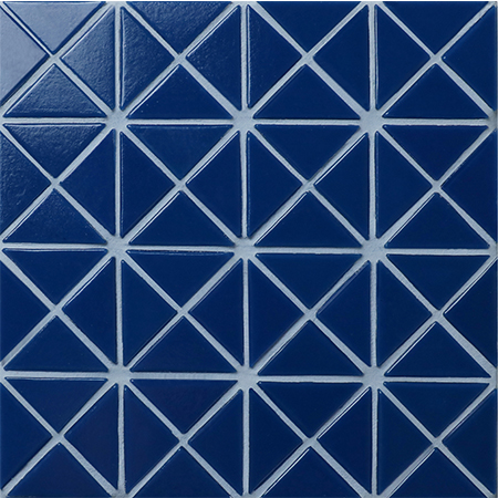 Santorini Pure-Color TRG-SA-P3,Pool Tile, Triangle Tile, Swimming Pool Glass Tile Design