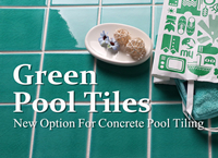 Concrete Pool Tiling New Option-Green Pool Tiles-swimming pool tile suppliers, pool tile ideas, green pool tiles, aqua pool tile