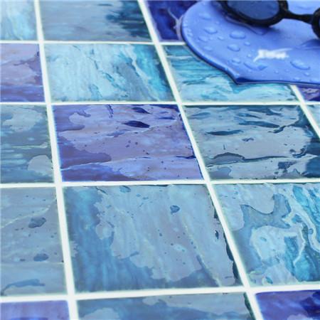 Wave Blue Bcp004 Mosaic Tile Ceramic Pool Mosaic Buy