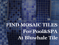 Discover Mosaic Tiles for Your POOL&SPA at Bluwhale Tile-Pool mosaic tiles, Ceramic pool tile, Swimming pool tile suppliers