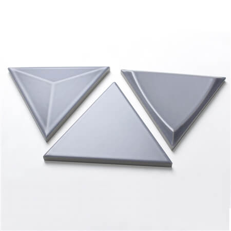 3D Triangle Grey BCZ310D,grey wall tiles, 3d porcelain wall tile, triangle shaped tile