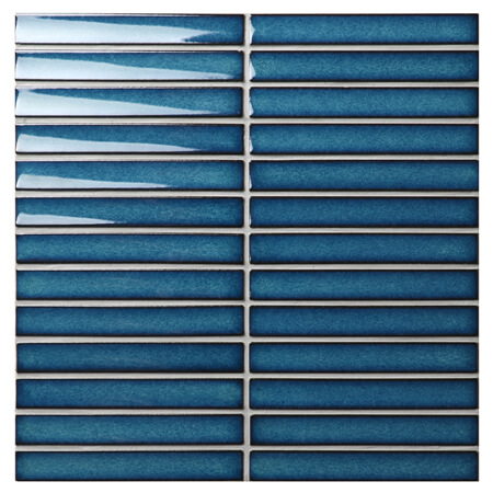 Strip Dark Blue Bcz629z Blue Mosaic Tiles Bathroom