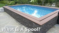 What Is A Spool?-buy swimming pool tile, pool and spa tile, swimmng pool advice