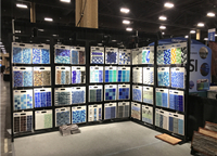 Bluwhale Tile At International POOL|SPA|PATIO EXPO 2018-swimming pool tile wholesale, pool mosaic tile factory, pool product show